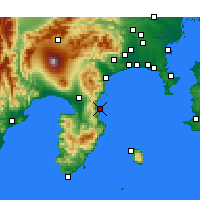 Nearby Forecast Locations - Ajiro - Map