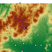 Nearby Forecast Locations - Nikkō - Map