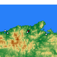 Nearby Forecast Locations - Toyooka - Map