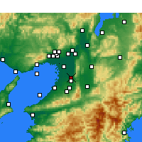 Nearby Forecast Locations - Yao - Map
