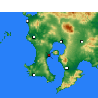 Nearby Forecast Locations - Kagoshima - Map