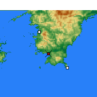 Nearby Forecast Locations - Sukumo - Map