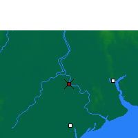 Nearby Forecast Locations - Ma-ubin - Map