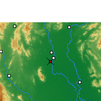 Nearby Forecast Locations - Sukhothai Thani - Map