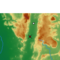 Nearby Forecast Locations - Phetchabun - Map