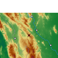 Nearby Forecast Locations - Doi Mu Soe Agromet - Map