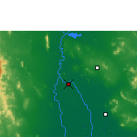 Nearby Forecast Locations - Chai Nat Agromet - Map