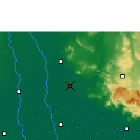 Nearby Forecast Locations - Ayutthaya Agromet - Map