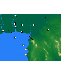 Nearby Forecast Locations - Pattaya - Map