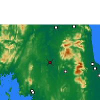 Nearby Forecast Locations - Phrasang - Map