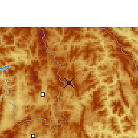 Nearby Forecast Locations - Bounneua - Map