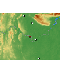 Nearby Forecast Locations - Vientiane - Map