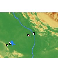 Nearby Forecast Locations - Thakhek - Map