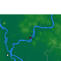 Nearby Forecast Locations - Kampong Cham - Map