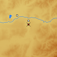 Nearby Forecast Locations - Ewenk. Zizhiqi - Map