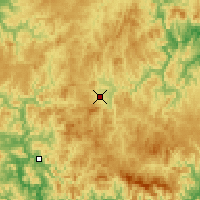 Nearby Forecast Locations - Luozigou - Map