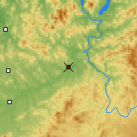 Nearby Forecast Locations - Huadian - Map