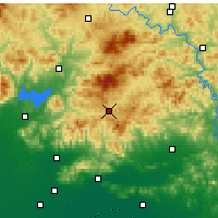 Nearby Forecast Locations - Xinglong - Map