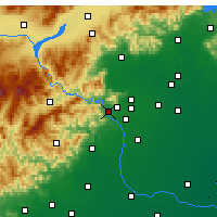 Nearby Forecast Locations - Mentougou - Map