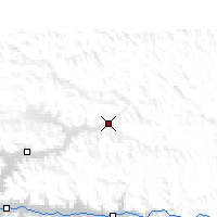 Nearby Forecast Locations - Kunggar - Map