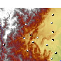 Nearby Forecast Locations - Lushan/SCH - Map