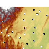 Nearby Forecast Locations - Pujiang/SCH - Map