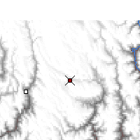 Nearby Forecast Locations - Daocheng - Map