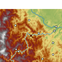 Nearby Forecast Locations - Suijiang - Map