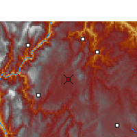 Nearby Forecast Locations - Zhaotong - Map