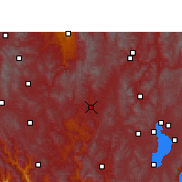 Nearby Forecast Locations - Lufeng/YNN - Map