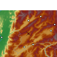 Nearby Forecast Locations - Longchuan/YNN - Map