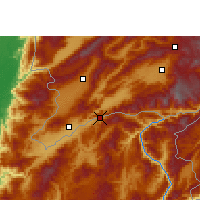 Nearby Forecast Locations - Wantingzhen - Map