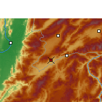 Nearby Forecast Locations - Ruili - Map