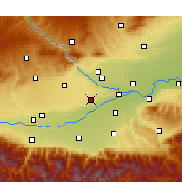 Nearby Forecast Locations - Xianyang - Map