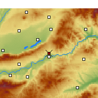 Nearby Forecast Locations - Pinglu/SHX - Map