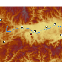 Nearby Forecast Locations - Nanzheng - Map