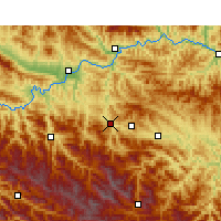 Nearby Forecast Locations - Pingli - Map