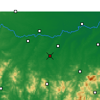 Nearby Forecast Locations - Guangshan - Map