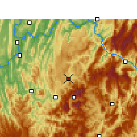 Nearby Forecast Locations - Nanchuan - Map
