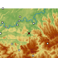 Nearby Forecast Locations - Chishui - Map