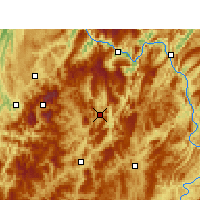 Nearby Forecast Locations - Daozhen - Map