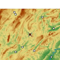 Nearby Forecast Locations - Yongshun - Map