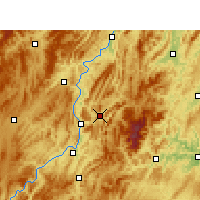 Nearby Forecast Locations - Yinjiang - Map
