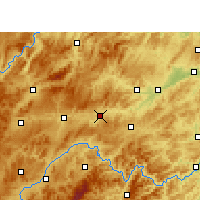 Nearby Forecast Locations - Zhenyuan/GZH - Map