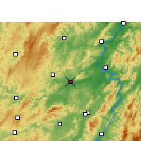 Nearby Forecast Locations - Mayang - Map