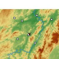 Nearby Forecast Locations - Huaihua - Map