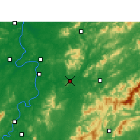 Nearby Forecast Locations - Liling - Map