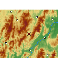 Nearby Forecast Locations - Ziyuan - Map