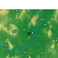 Nearby Forecast Locations - Hengnan - Map