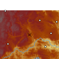 Nearby Forecast Locations - Xingyi - Map